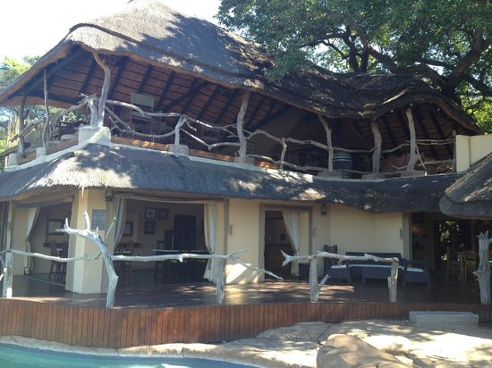 Jock Safari Lodge: The Bar and Restaurant