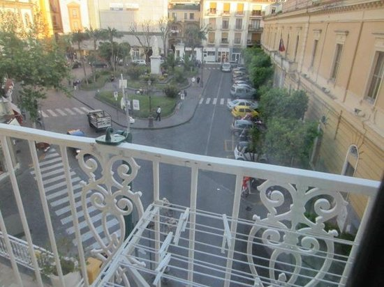 La Piazzetta Sorrento: View from the balcony