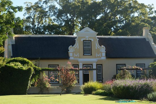 Somerset West, Südafrika: main House at Vergelegen