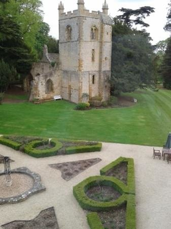 Ettington Park Hotel: The view of the abbey from  room no. 50 on the 2nd floor