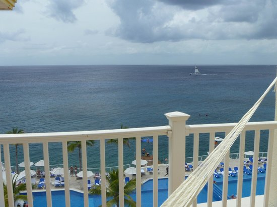 Cozumel Palace: View from the balcony
