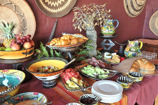 Ngoma Safari Lodge: Breakfast Buffet