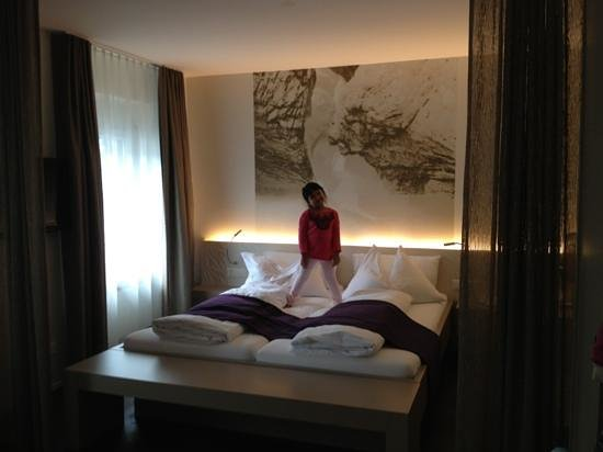 Hotel Cascada : The main bed area