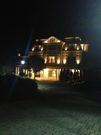 The Chanler at Cliff Walk: As impressive at night as it was during the day. A wonderful property.