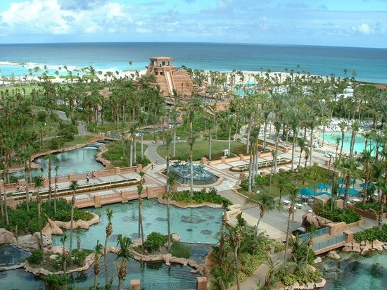 Atlantis - Royal Towers: View from room
