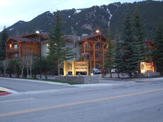 The Lodge at Jackson Hole: front