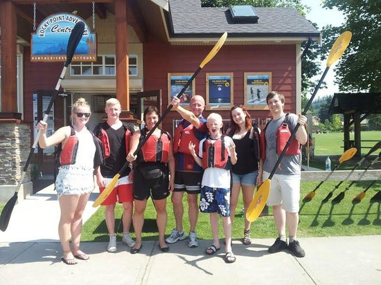 Port Moody, Canadá: School Group Paddle