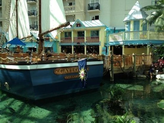 Gaylord Palms Resort & Convention Center: Key west restaurant