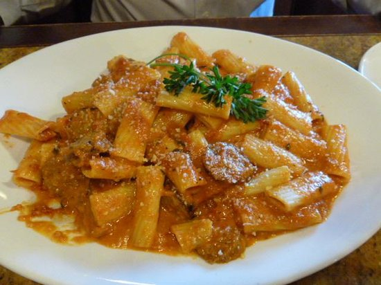 Folsom, Kalifornien: Rigatoni in a Vodka Sauce