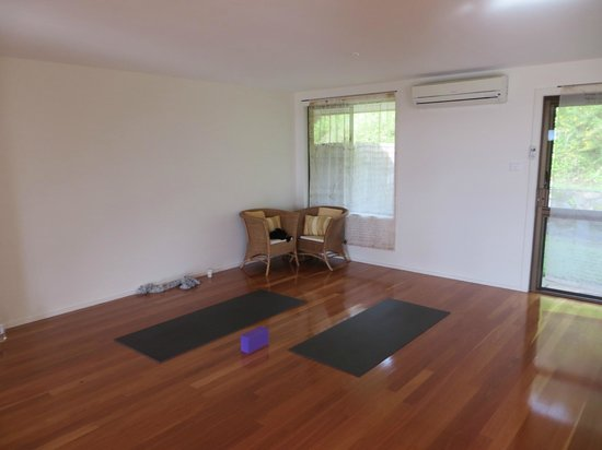 Gaia Retreat & Spa: yoga room