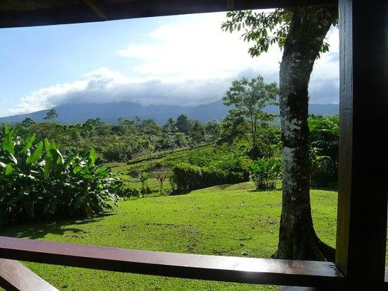 Rincon de La Vieja, Costa Rica: view from dining room