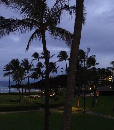 Sheraton Maui Resort & Spa: View from Room (Bldg 2, 3rd floor)
