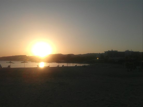 St Raphael Resort: sunset