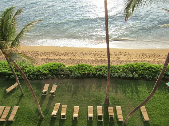 Aston Mahana at Kaanapali: Taken from balcony.