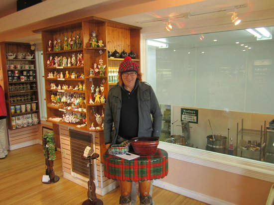 Charlottetown, Kanada: My wee scottish hat