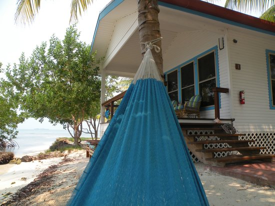 Hatchet Caye Resort: my favorite spot