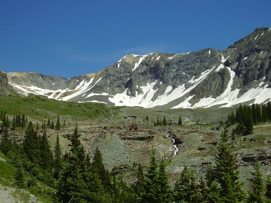 Telluride, Kolorado: Savage Basin above the Tomboy townsite.