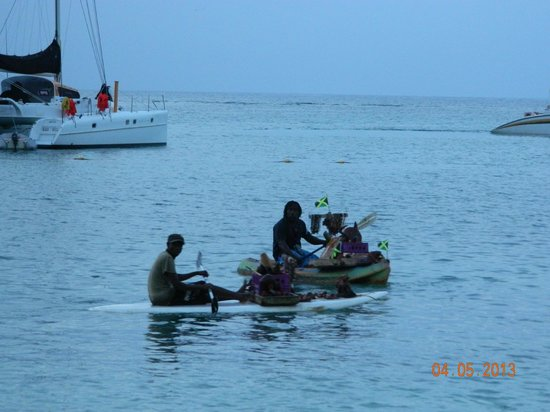 Riu Montego Bay Hotel: The Canoe People
