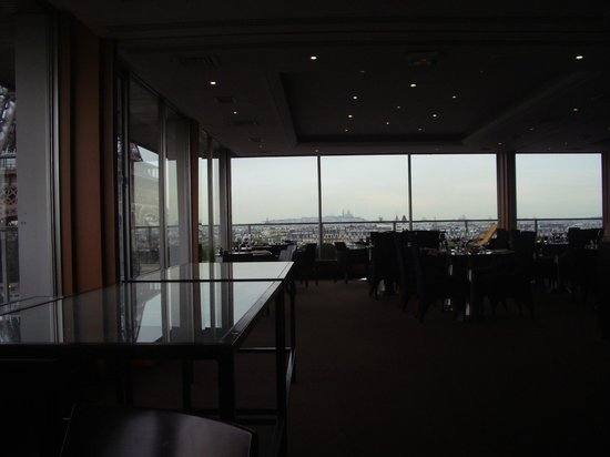 Pullman Paris Tour Eiffel: View from 180 restaurant on 10th floor
