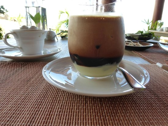 An Lam Ninh Van Bay Villas: Delicious Vietnamese Iced Coffee