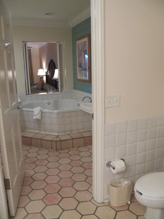 Disney's Old Key West Resort: jacuzzi bath