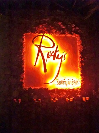 Rocky's Boutique Resort: great entrance