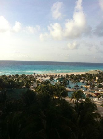 Iberostar Cancun: View from our room.
