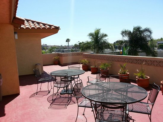 Costa Mesa, Californië: 3rd Floor Patio
