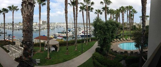 The Sheraton San Diego Hotel & Marina: view from our room 5305