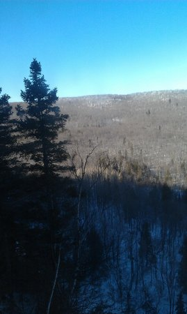 Lutsen, MN: view from gondola