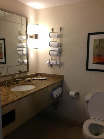 New York Marriott Marquis : Bathroom