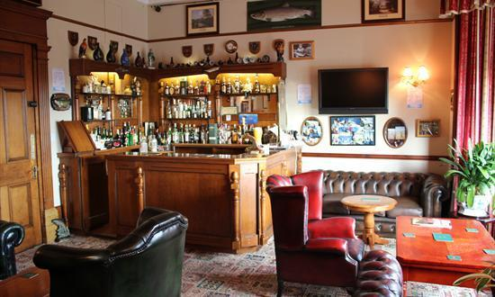 Licensed bar in guest house Crieff