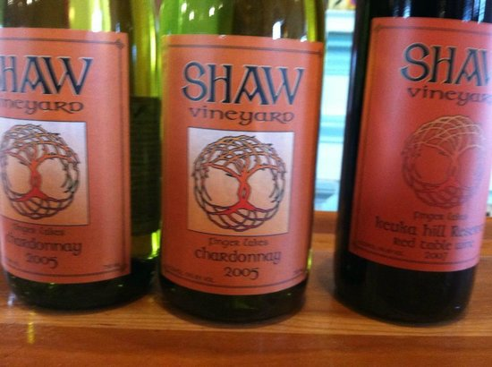 Himrod, Nueva York: Our picks fro Shaw Vineyard