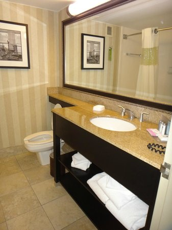 Linthicum, MD: Room 216-Bathroom