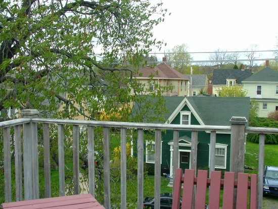 Lunenburg, Canada: Out on the deck