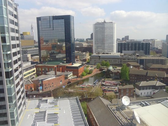 Jurys Inn Birmingham: View from our room (1220)