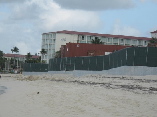 Breezes Resort Bahamas: Construction Area for the new hotel resort to open in 2014