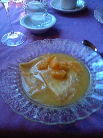 Mahone Bay, Kanada: Orange Crepes