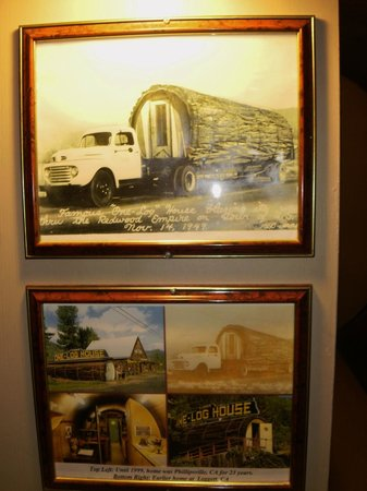 Garberville, Californien: Walls have stories of the history