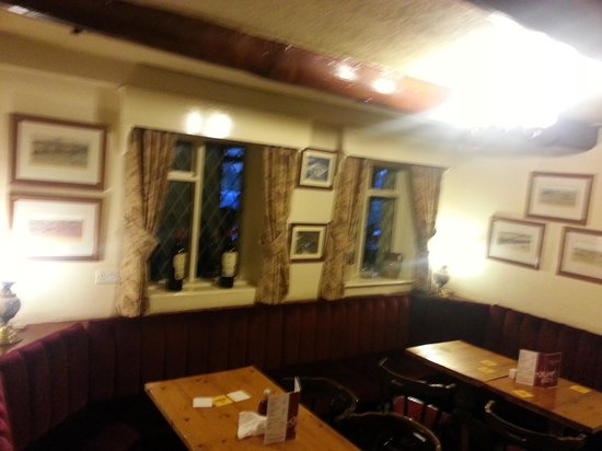 Littleborough, UK: One of the dining rooms