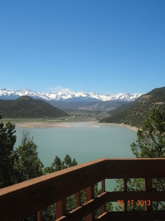 Ridgway, CO: View from the Scenic Overlook