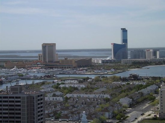Flagship Resort: view from the room, 25th floor