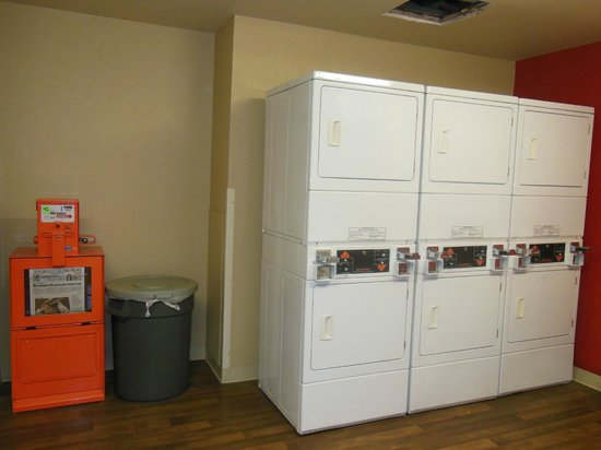 Extended Stay America - Amarillo - West: laundry room dryers $2 each