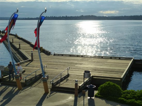 Kirkland, WA: Late afternoon on Lake Washington.