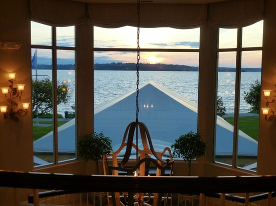 Kirkland, WA: Sunset over Lake Washington.