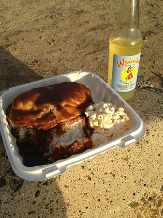 Sunset Beach, HI: loco moco