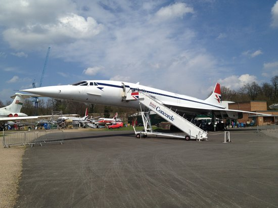 Weybridge, UK: Concorde