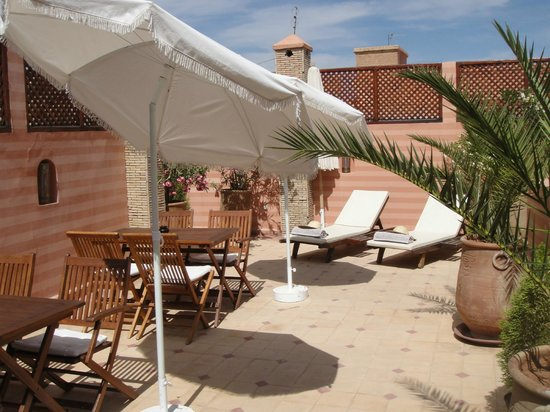 Riad de la Belle Epoque : Roof-top terrace