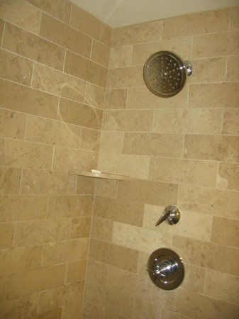 Caesars Palace: Updated shower, Forum Tower