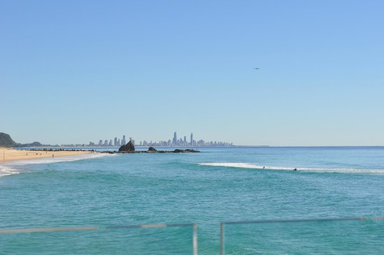 Currumbin, Australia: View from Vikings Beach Surf Life Savers 1